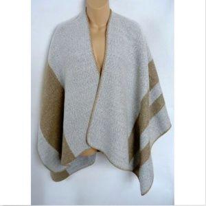 Francesca's Blanket Wrap Shawl Cape Sweater Cozy